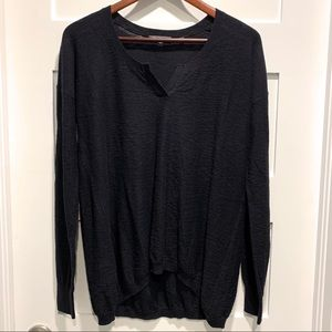 🔥 VINCE 100% Cotton Black Sweater